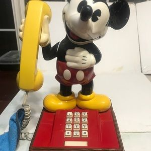 Vintage The Mickey Mause Phone